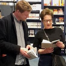 Max Porter en Saskia van der Lingen